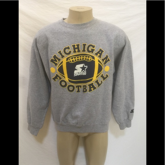 STARTER Other - STARTER UNIV Of Michigan Sz XL Crewneck Sweatshirt